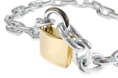 Chain and lock